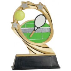7 inch Cosmic Tennis Resin